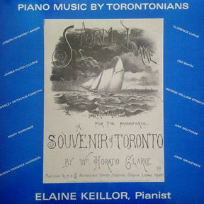 Piano Music By Torontonians